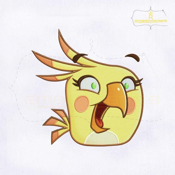 Angry Birds Poppy Embroidery Design