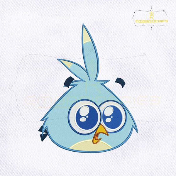 Angry Birds Luca Embroidery Design