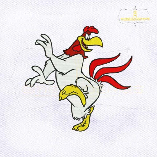 Looney Tunes Foghorn Leghorn Embroidery Design