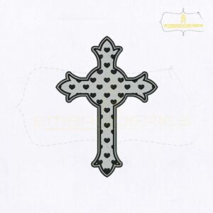 Symbol of Christianity Cross Embroidery Design