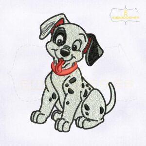 Happy Dalmatians Disney Embroidery Design