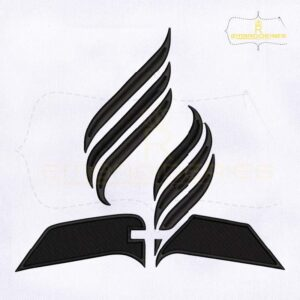 Seventh Day Adventist Church Embroidery Design