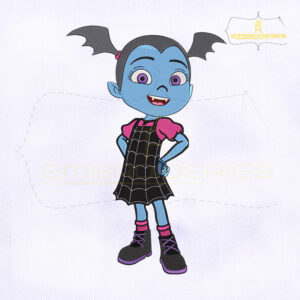 Disney Vampirina Machine Embroidery Design