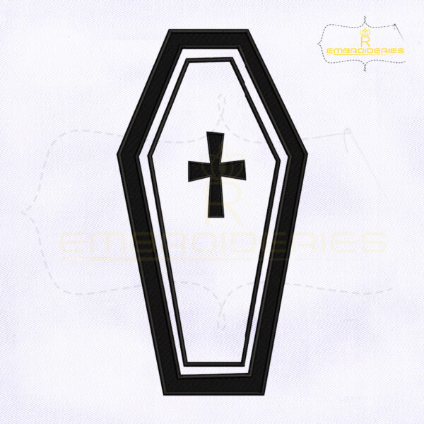 Halloween RIP Gravestone Embroidery Design