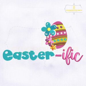 Easter-ific Egg Hunt Embroidery Design