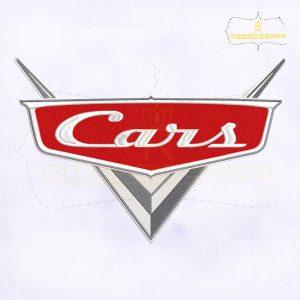 McQueen Cars Logo Embroidery Design