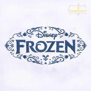 Frozen Logo Machine Embroidery Design